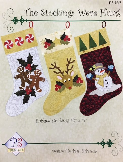 P3-169 P3 Designs The Stockings Were Hung