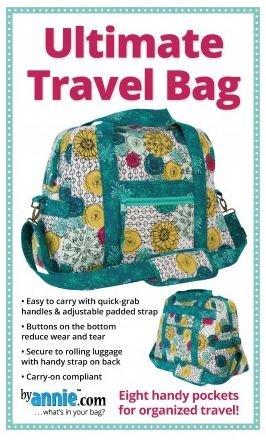 PBA251, By Annie, Ultimate Travel Bag, 18-1/2 long x 13-3/4H x 8D