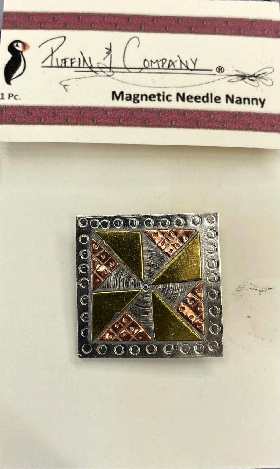 PC0521 Puffin Needle Nanny Pinwheel Quilt