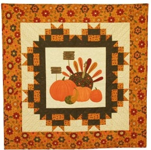PH-451G Pieces From My Heart Gobble Gobble Wall Quilt