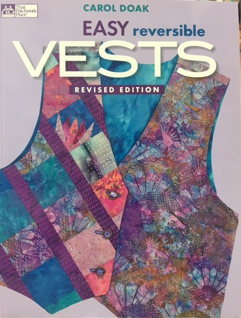 PP778536, That Patchwork Place Easy Reversible Vest by Carol Doak