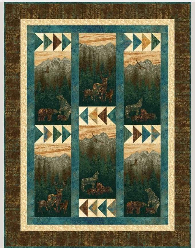 PTN1567 Upper Canada Quiltworks  Mountain View