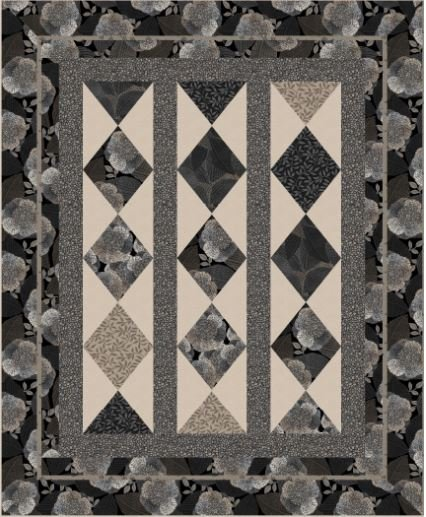KIT2469 La Dolce Vita  by Terry Albers of Hedgehog Quilts 72 x 88