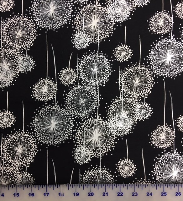 Q4412-4S Hoffman of California Sparkle and Fade Black and Silver
