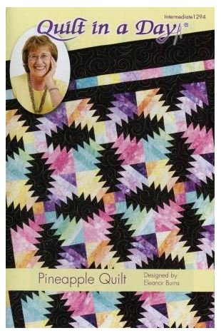 QID1294 Quilt In A Day Eleanor Burns Pineapple Quilt Pattern