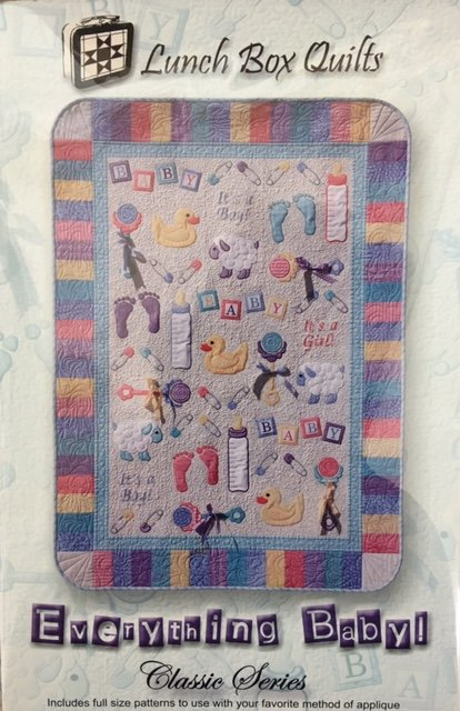 QP-EB-1 Lunch Box Quilts  Everything Baby