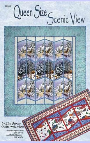 QWT10241KIT Quilts With a Twist Scienic View Lap and Runner