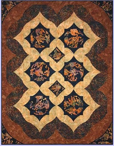 QWT10261 Quilts With a Twist  Alaska Toss