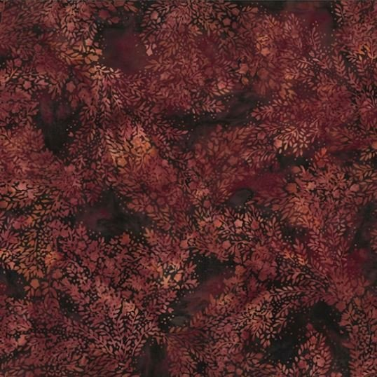 R2248-533 Hoffman of California Batik, Delicate Leaf Nightshade