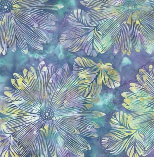R2249-276 Hoffman of California Batik, Sea Urchin