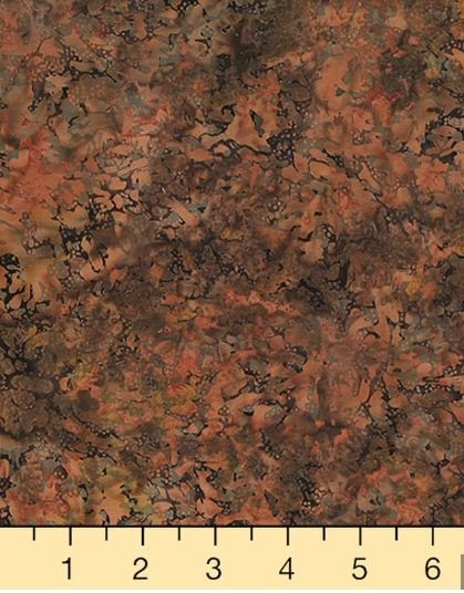 R2257-414 Hoffman of California Batik, Smudge Texture Biscotti