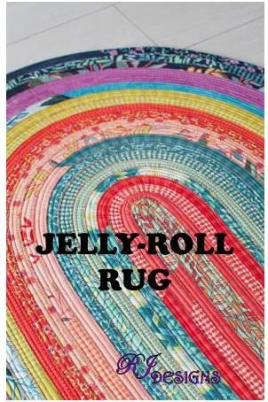 RJD100 RJ Designs Jelly Roll Rug 30 x 44