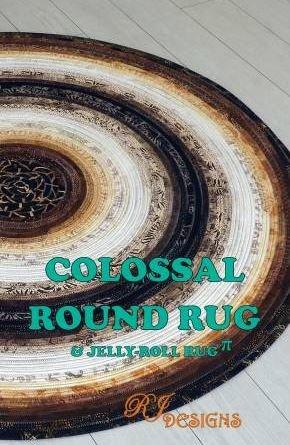 RJD130 RJ Designs Jelly Roll Rug 54 area rug or 38 area rug