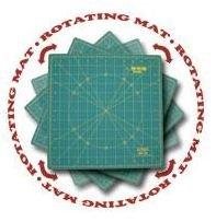 RM-12S Olfa 12x12 Rotating Rotary Mat
