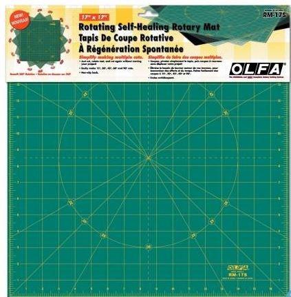RM-17S Olfa 17x17 Rotating Rotary Mat