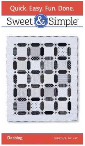 S411 Sweet & Simple Dashing Pattern 68 by 81
