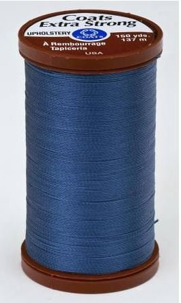 S9644550 Coats Extra Strong 100% Nylon Upholstery Thread Soldier Blue