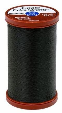 S964 0900 Coats Extra Strong 100% Nylon Upholstery Thread Black