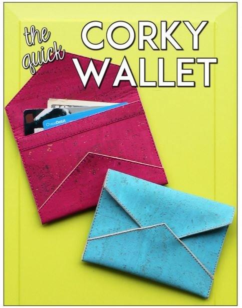 SASSLN-0062 Sassafras Lane Corky Wallet 5 by 3-1/2