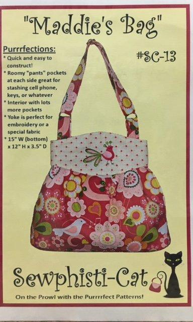 SC-13 Sewphisiti-Cat Maddie's Bag