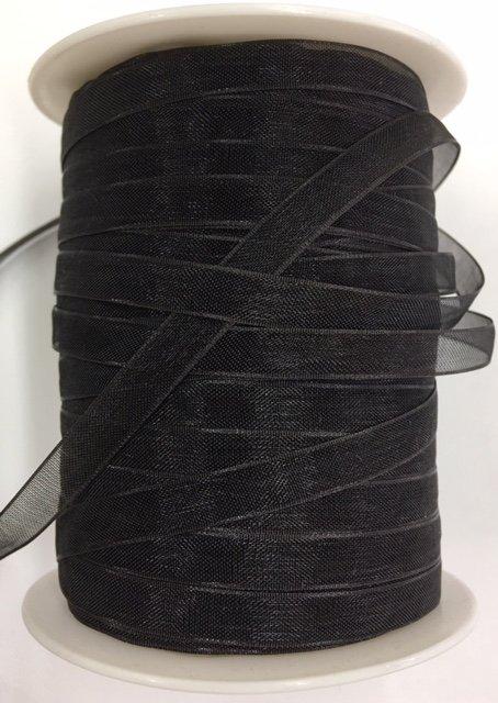 SC-10 May Arts 1/4 Sheer Black 100% Nylon