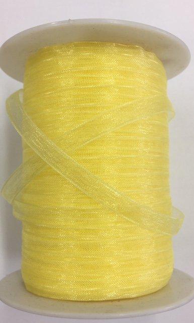 SC-27 May Arts 1/4 Sheer Yellow 100% Nylon
