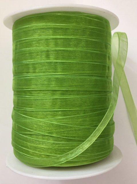 MAYARTSSC-46 May Arts 1/4 Sheer Parrot Green 100% Nylon