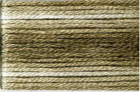 SE80-8039 Cosmo Seasons Variegated Embroidery Floss Browns