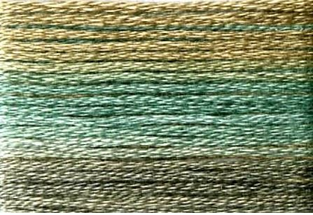 SE80-8049 Cosmo Seasons Variegated Embroidery Floss Blues/Browns