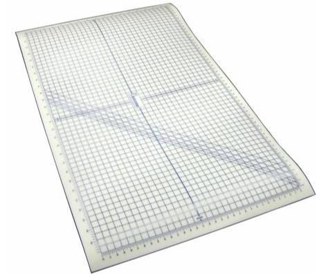 SF3659 Quilter's Rule, Self Healing, Meg-a-Mat Rotary Cutting Mat Grid 55 x 32