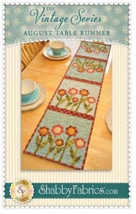 SF48663 Shabby Fabrics Vintage Series Table Runner August Pattern