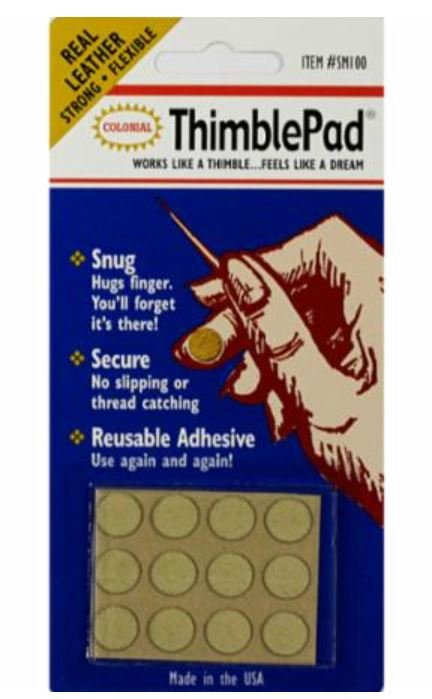 SM100 Colonial Thimble Pad Leather Dot