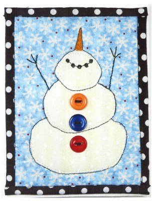 Let it Snow On the Trail Creations Quilted Card Pattern
