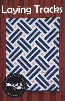 SOPTRACKS Laying Tracks 5 Sizes Slice of Pi Quilts