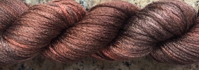 SP-SKS-H6 Artyarns Silk Pearl Rust/Choco