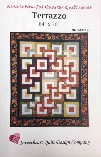 SQD-117TZ Terrazzo Lap Quilt 64 x 76