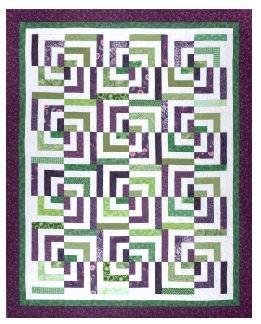 SRR-PB Cozy Quilt Shop Strip Club Pattern Psychedelic Baby