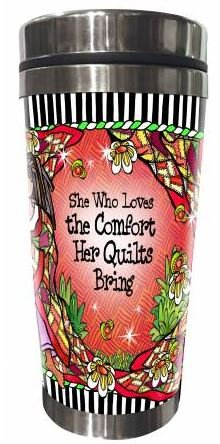 SS161ST  Quilt Comfort Stainless Steel Tumbler 16 oz