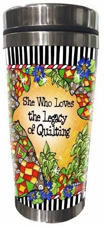 SS163ST  Quilt Legacy Stainless Steel Tumbler 16 oz