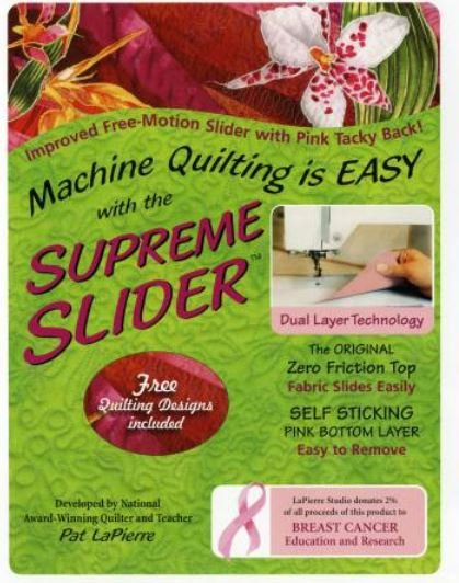 SS7 LaPierre Supreme Slider Teflon Sheet Machine Quilting
