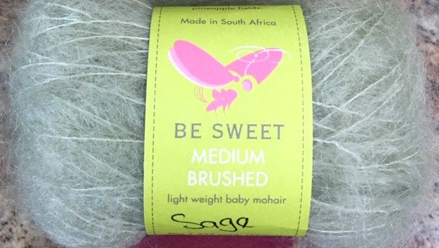 SS-68-18B Be Sweet Baby Mohair Medium Brushed 50g/222 yards Sage