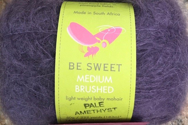 SS-68-30B Be Sweet Baby Mohair Medium Brushed 50g/222 yards Pale Amethyst