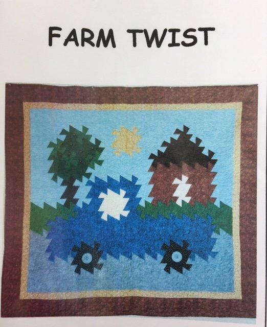 STD-115 Simply Twisted Designs Twister Farm Twist Wall Hanging 52 x 60
