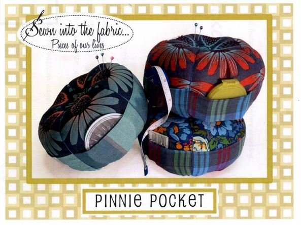 STF187 Pinnie Pocket Pin Cushion with Pockets