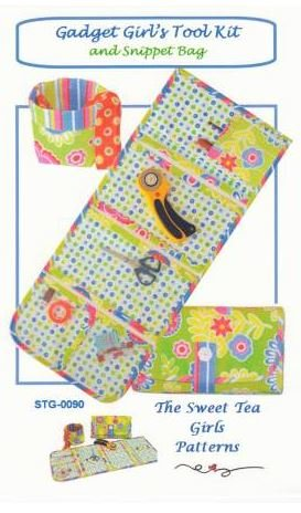 STG-0090 The Sweet Tea Girls Gadgets Girl's Tool Kit and Snippet Bag