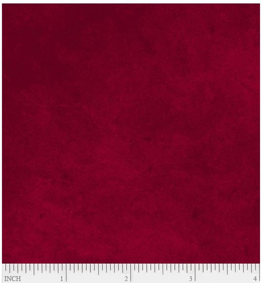SUE6-302DR P&B Textiles Suede Deep Burgundy Red
