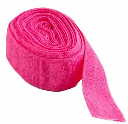 SUP211-LIPSTICK By Annie Fold Over Elastic 3/4 wide 2 yards