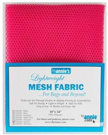 SUP209-LIP By Annie's Mesh Fabric Lipstick 18 x 54