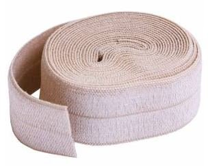 SUP211-2-NAT By Annie Fold Over Elastic 3/4 wide 2 yards Natural