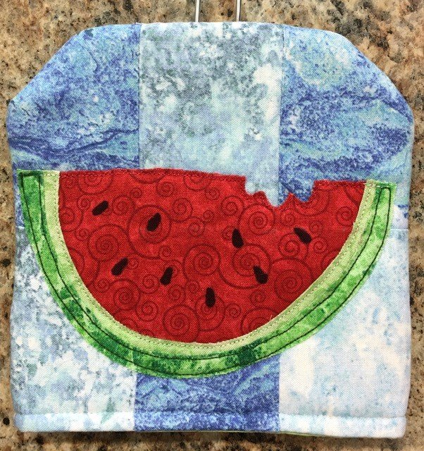 SWAT-AUGPAT Keama's Fly Swatter Cover Pattern, Watermelon and Sun